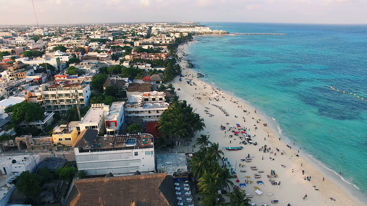 Playa del Carmen Aerea